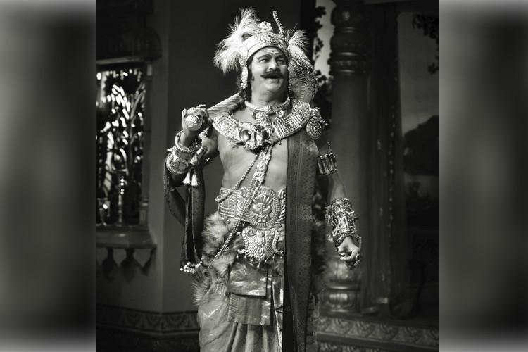 Mohan Babus SVR look from Mahanati out