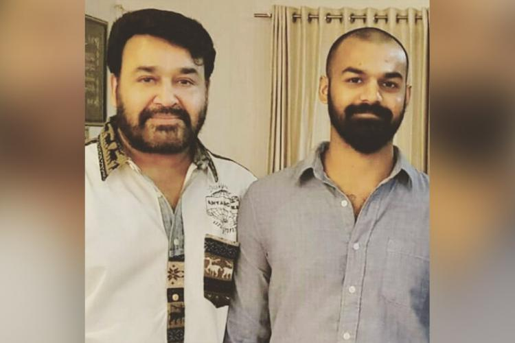 Mohanlal post childhood photo of Pranav mohanlal on his birthday