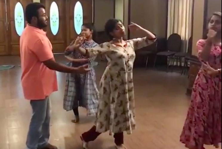 Mohanlals Star Nite practice goes viral