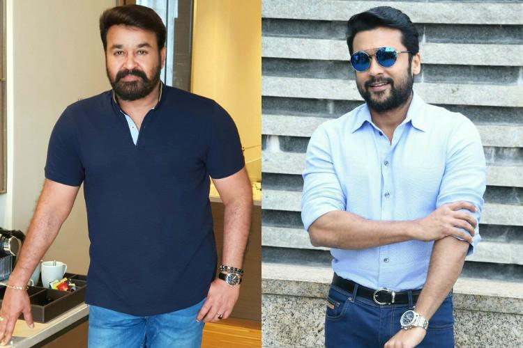 Mohanlal on board Suriyas next movie to be directed by KV Anand