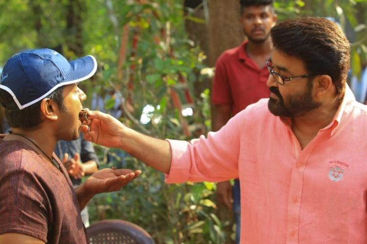 Mohanlal joins sets of Kayamkulam Kochunni