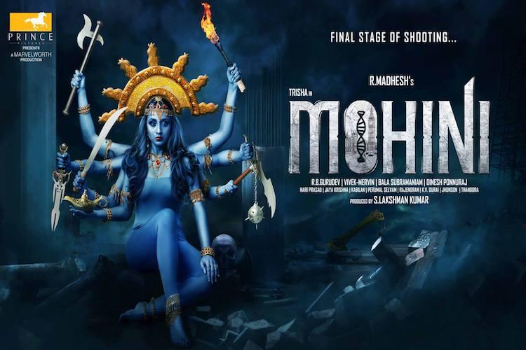 Release date for Trishas long-delayed horror flick Mohini announced