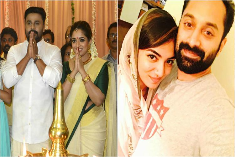 Mollywood kalyanams Hero-heroines who got married in real life