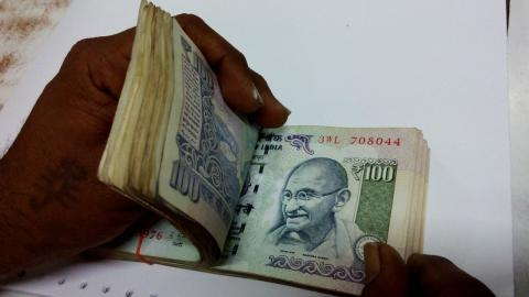 Currency notes and incriminating documents found in Vyapam office