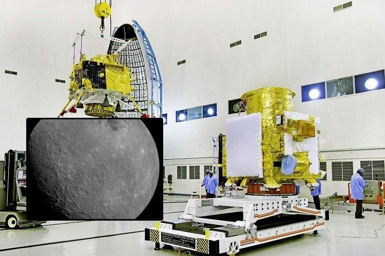 Chandrayaan-2 sends back first photo of the moon