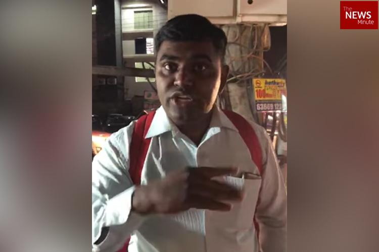 Dont have other clothes Follow Indian rules Bluru man harasses woman in shorts