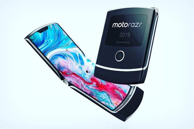 A new Motorola Razrs display screen is peeling off at the hinge Report