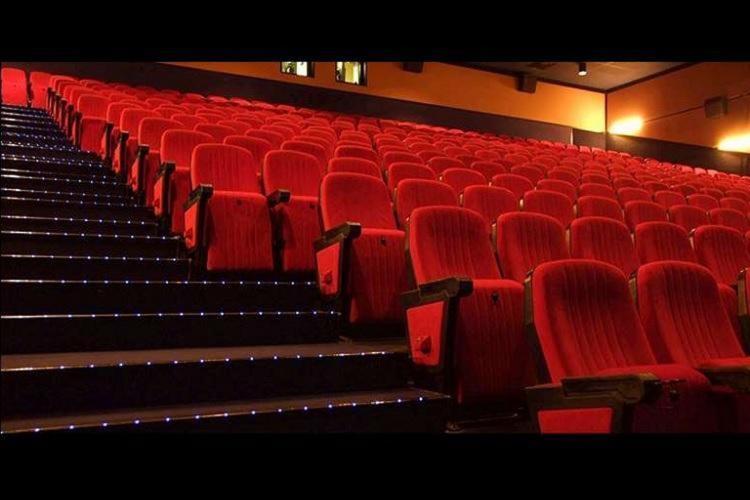 A representative image of empty seats inside a movie theatre