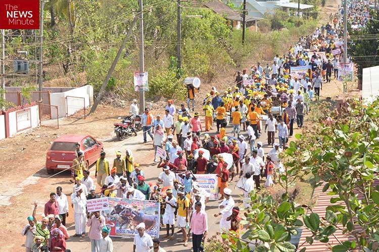 Thousands turn out in Moodbidri along with prized buffaloes as Kambala protests gather steam