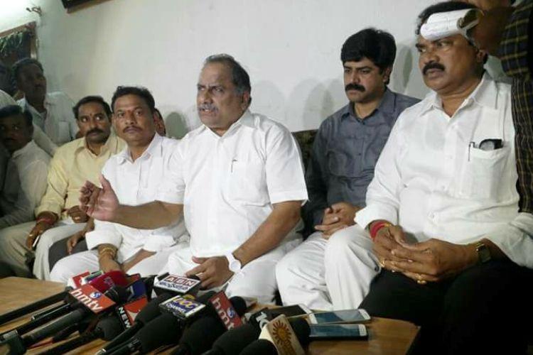 Kapu leader Mudragada Padmanabham put under house arrest ahead of padayatra