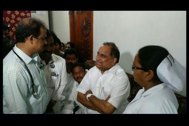 Andhra Kapu quota row Leader Padmanabham postpones indefinite fast