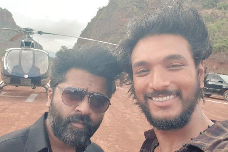 Simbu and Gautham Karthik wrap up first schedule of Mufti remake