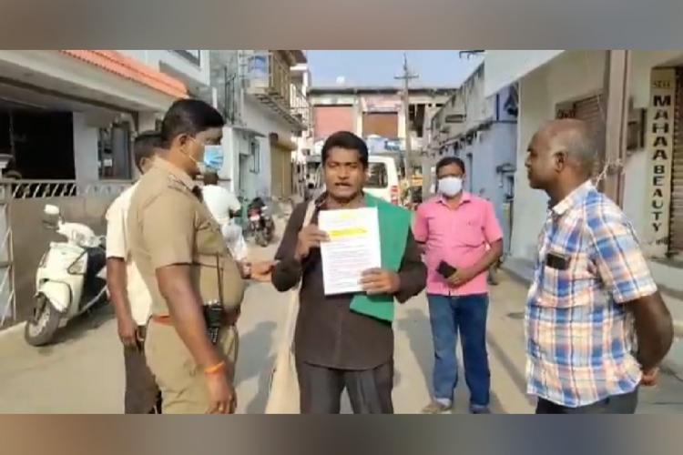 Social activist Mugilan arrest