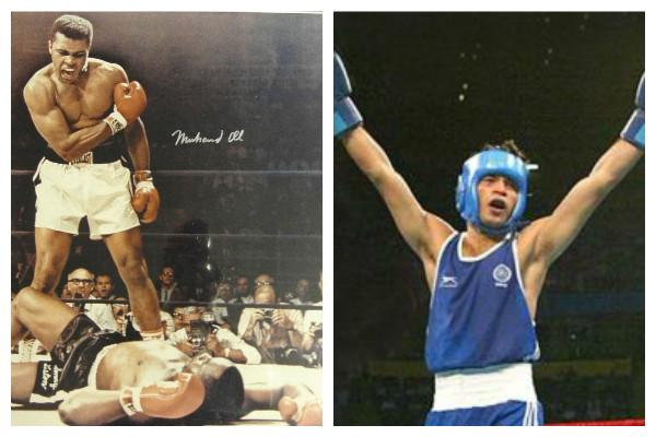 Indias very own Mohammed Ali who shone brightly but all too briefly in 2002