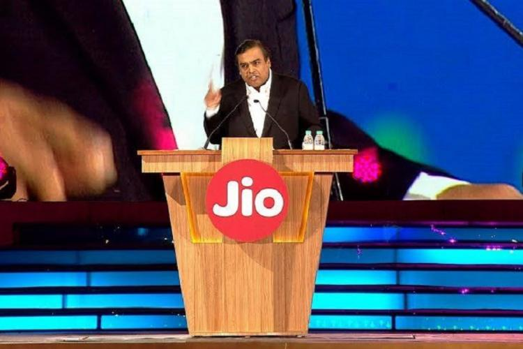 Mukesh Ambani during Reliances AGM