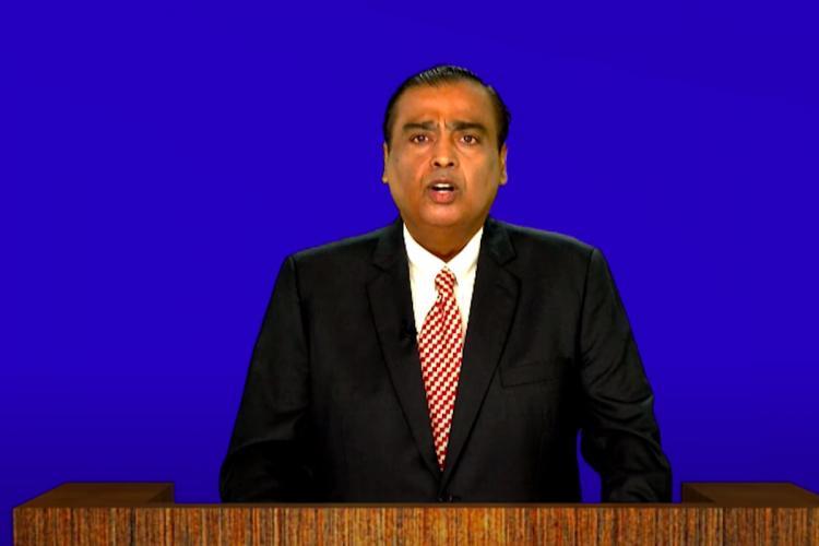 Reliance Ind chairman Mukesh Ambani