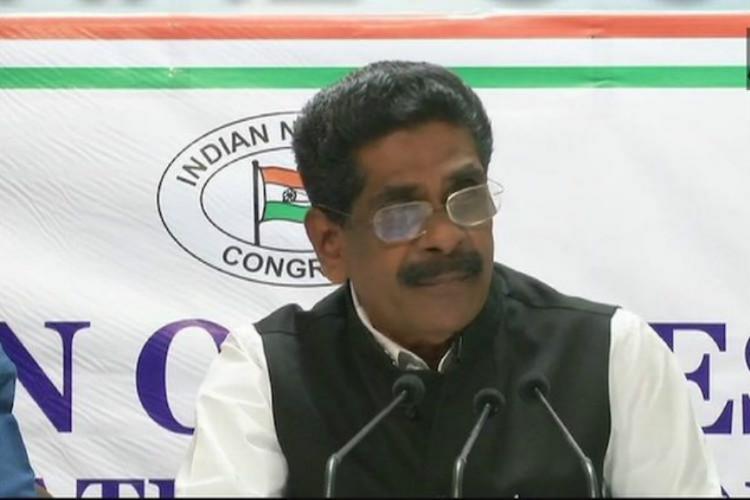 Kerala Pradesh Congress Comiittee President Mullappally Ramachandran