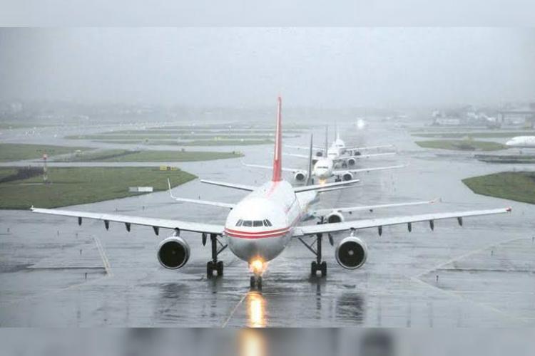 Mumbai rains Several flights diverted to Bengaluru flights in Chennai Hyd affected