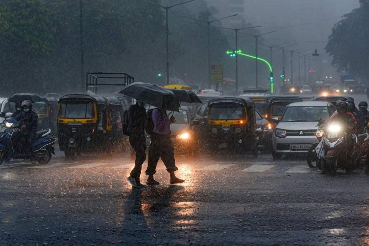 Mumbai rains PTI photo