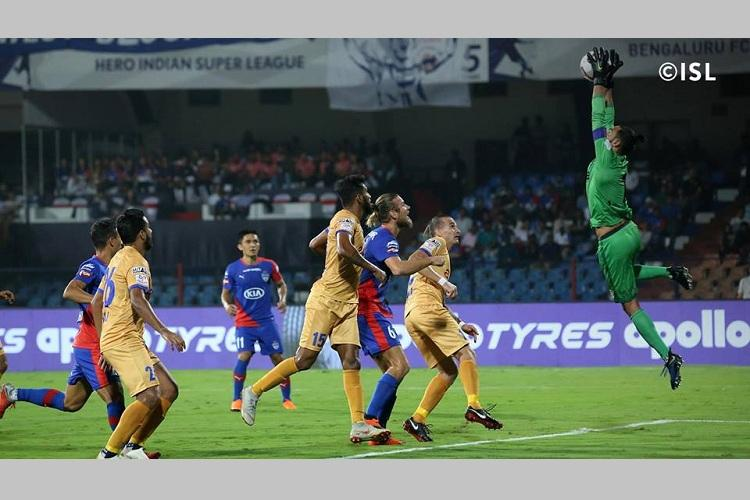 ISL Mumbai Bengaluru play intense draw in closely-fought tie