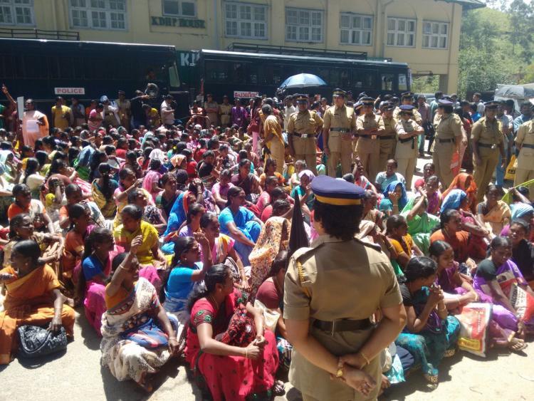 Nine-day womens stir at Munnar plantation ends