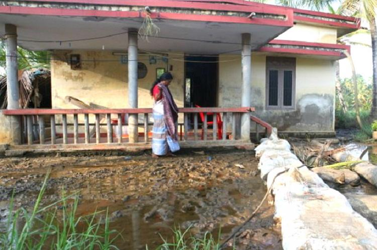 The sinking Munroe Island in Kerala and the lives bruised by water