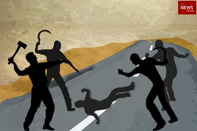 Man chased hacked to death on busy road in Andhra Pradeshs Guntur district