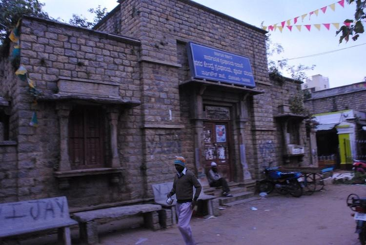 Activists residents cry foul after BBMP razes heritage building to build Indira canteen