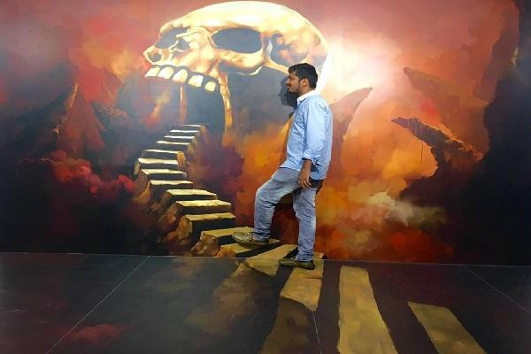 In this Chennai museum see exciting 3D art from the inside