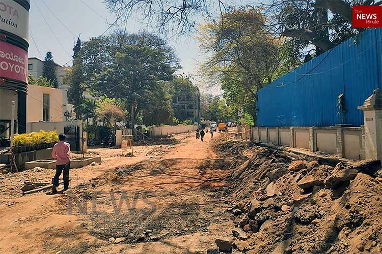 Just 400m but Bengalurus Museum Cross Road to take 3 more months to develop