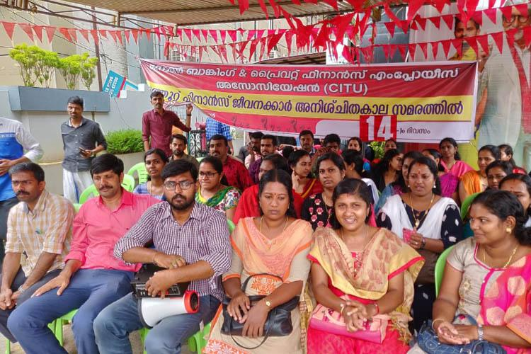 Why scores of employees of Muthoot Finance in Kerala have risen in protest