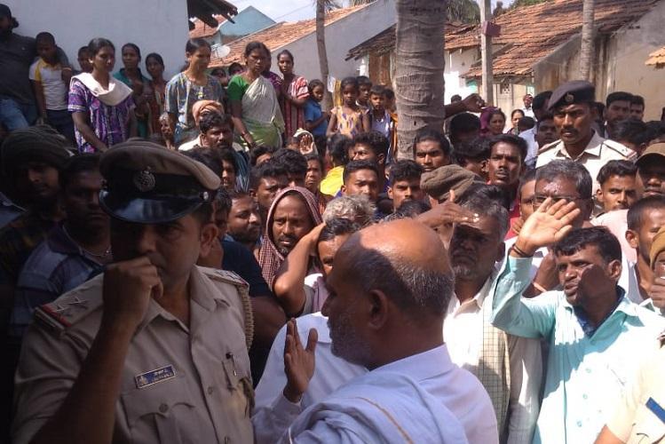 We had no choice but to run Dalits in Mysuru village allege attack by caste Hindus