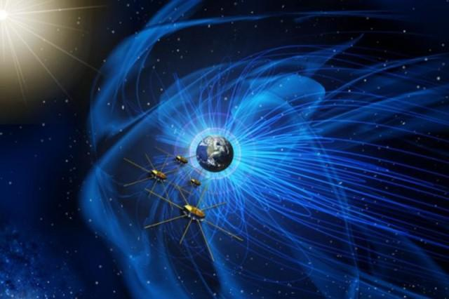 NASA flies satellites through explosion in space starts to unravel mystery of magnetism