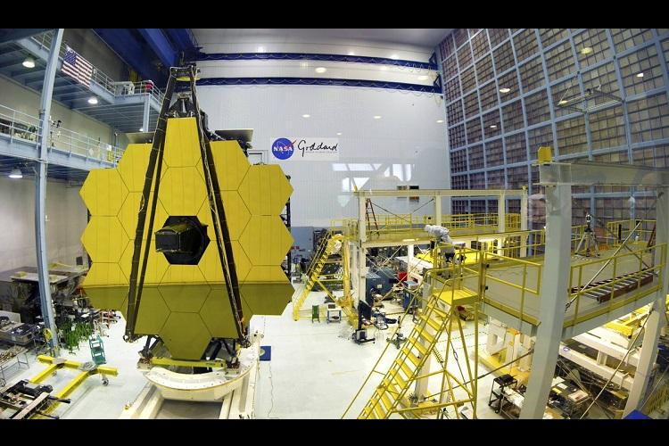 NASA completes construction of worlds largest space telescope
