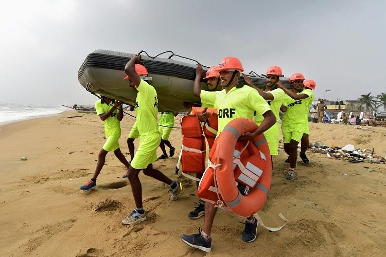 Tsunami mock drill conducted