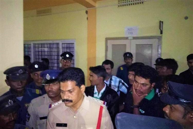 Tension at NIT Andhra 5 students suspended and booked for ragging