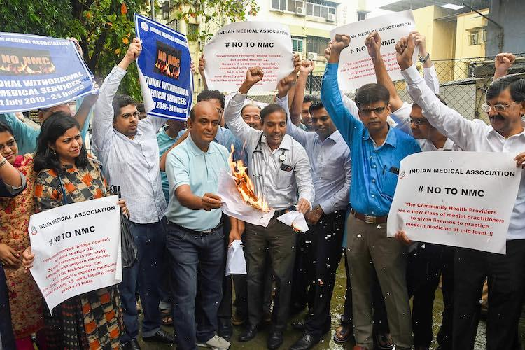 As doctors continue protests National Medical Commission Bill passed in Rajya Sabha