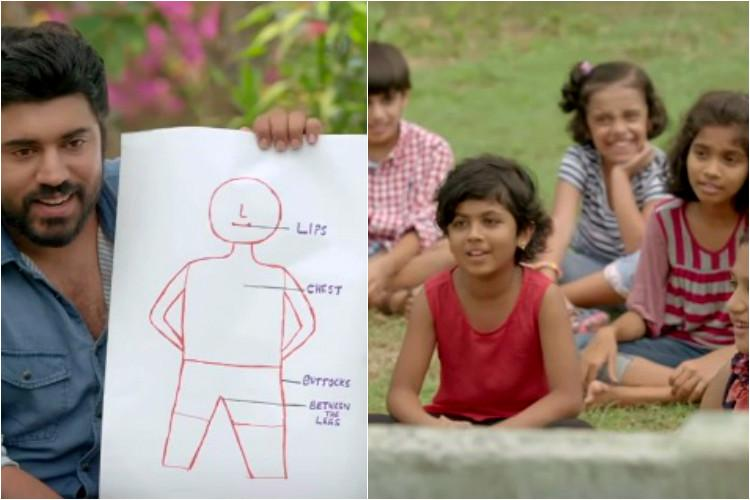 No Go Tell Watch actor Nivin Pauly talk to children about child body safety
