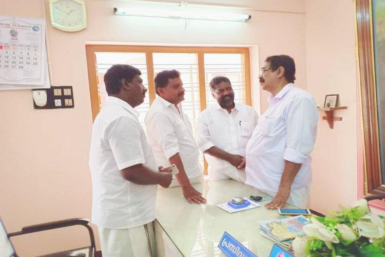 Nair Service Society dissolves a Taluk Union for allegedly welcoming a CPI candidate