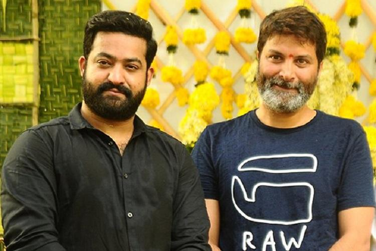 First look of Jr NTR in Trivikrams film to be out soon