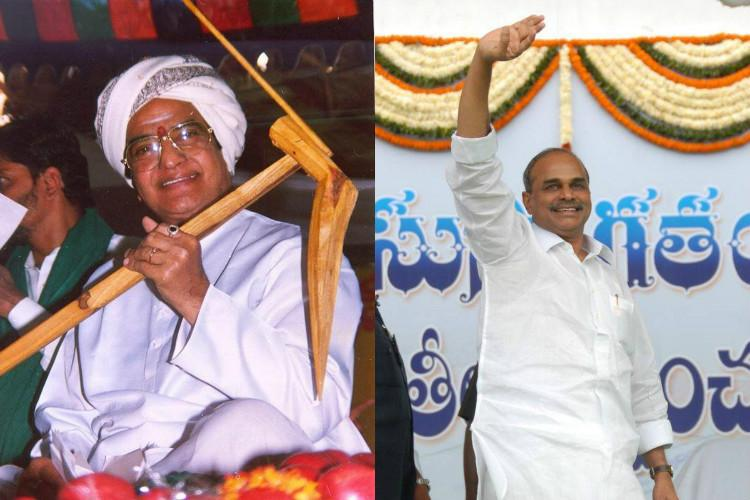 Season of Telugu biopics Are political parties using films for propaganda
