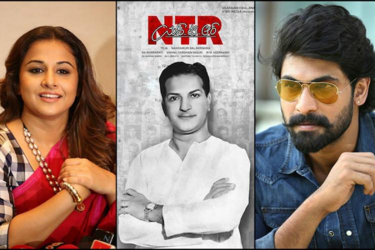 Vidya Balan and Rana Daggubatis roles in NTR biopic revealed