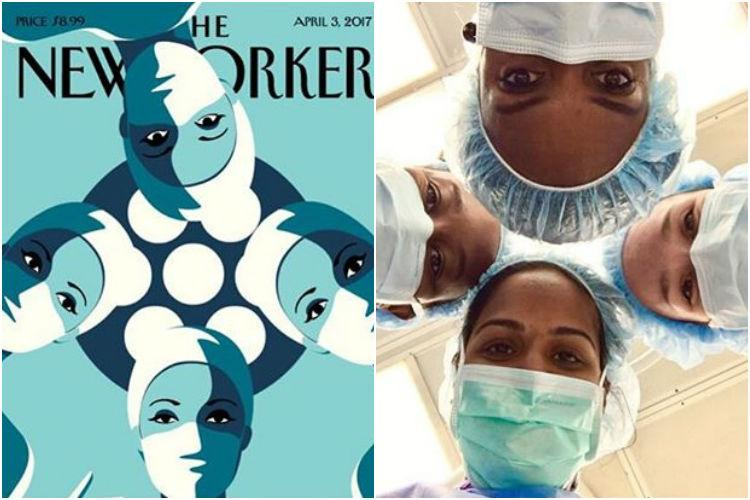 Female surgeons from across the world are recreating this inspiring illustration Heres why