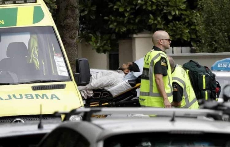Gunman opens fire at mosque in New Zealand; several feared dead