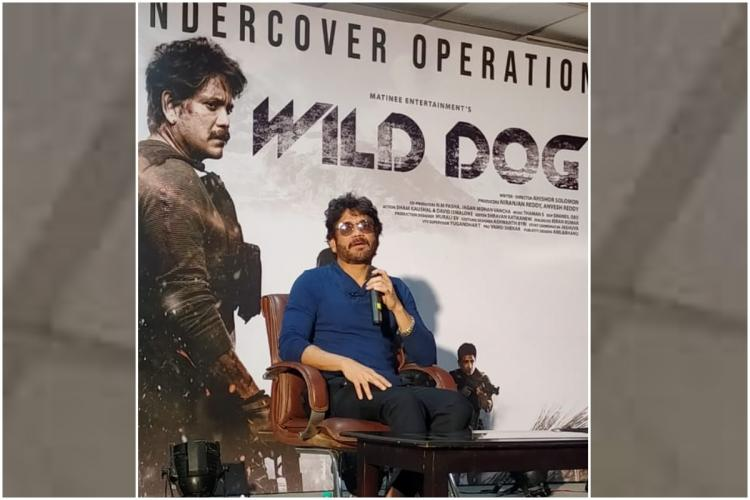 We trained under an army Major for Wild Dog Actor Nagarjuna