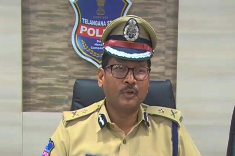 Inspector General Y Nagi Reddy addressing the media