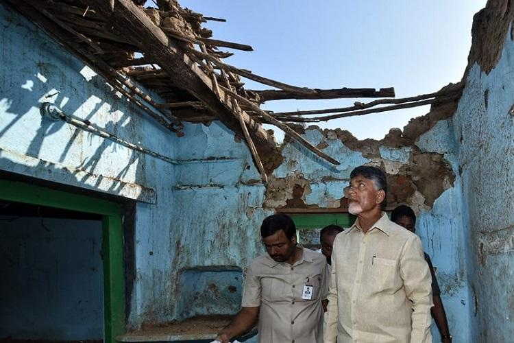 Cyclone Titli Andhra CM Naidu assures compensation for victims by Oct 29
