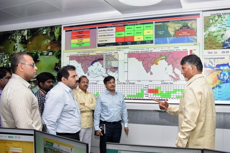Cyclone Titli As storm weakens Andhra govt takes up relief measures