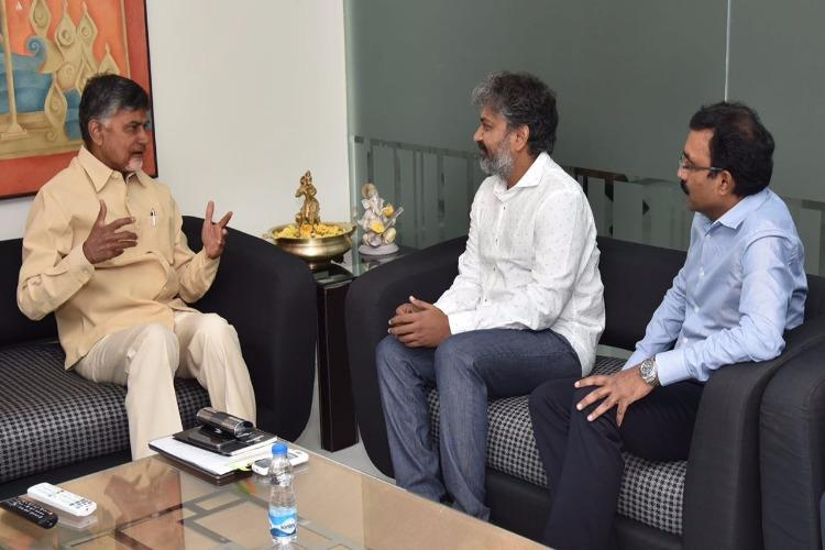 Is there a Baahubali touch to Amaravati What Rajamouli says on his contribution