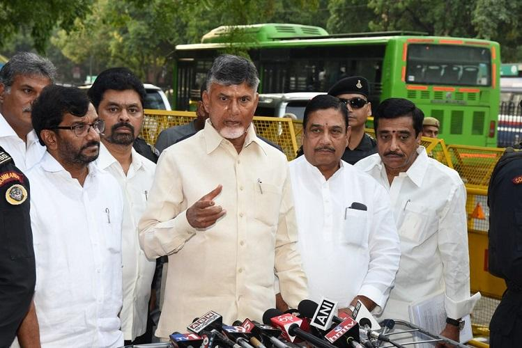 EC decisions are one-sided pro-govt Andhra CM Naidu hits out at poll panel